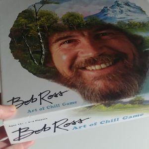 4/$15 - Bob Ross Art of Chill boardgame